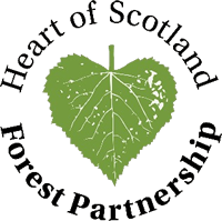 Heart of Scotland Forest Partnership logo