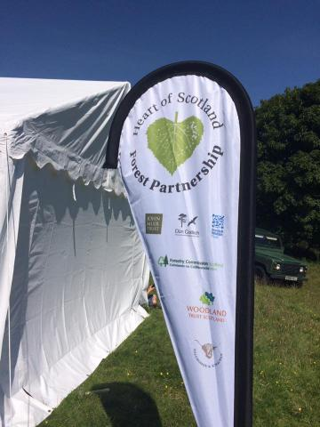 Launch of Heart of Scotland Forest Partnership